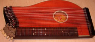 The fretted Concert Zither